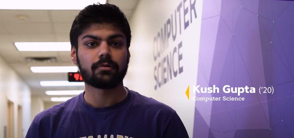 Kush Gupta JMU CS Department The Breeze